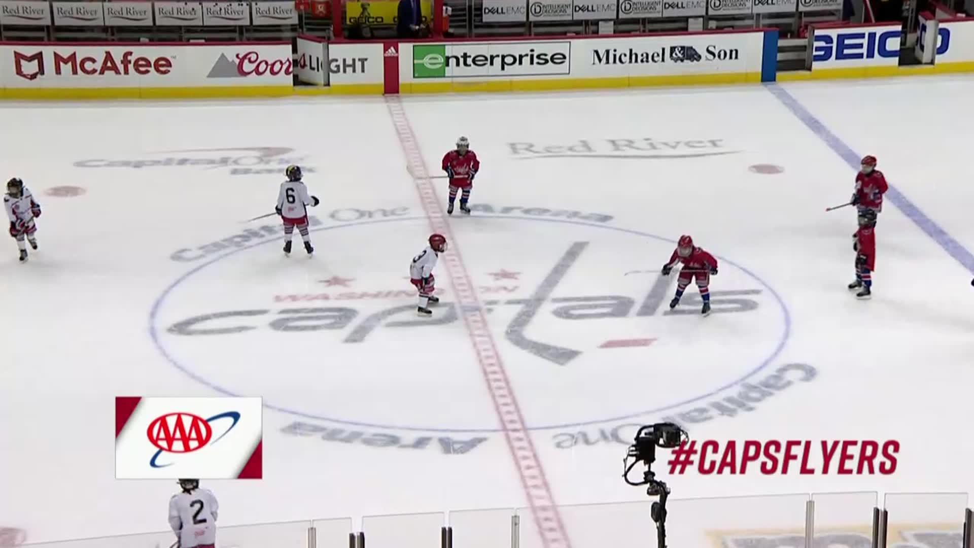 #CapsFlyers Mites on Ice 1/21/18
