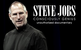 Image of Steve Jobs: Consciously Genius