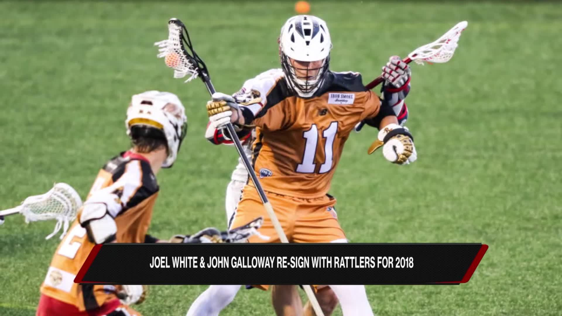 John Galloway on Re-Signing with Dallas Rattlers