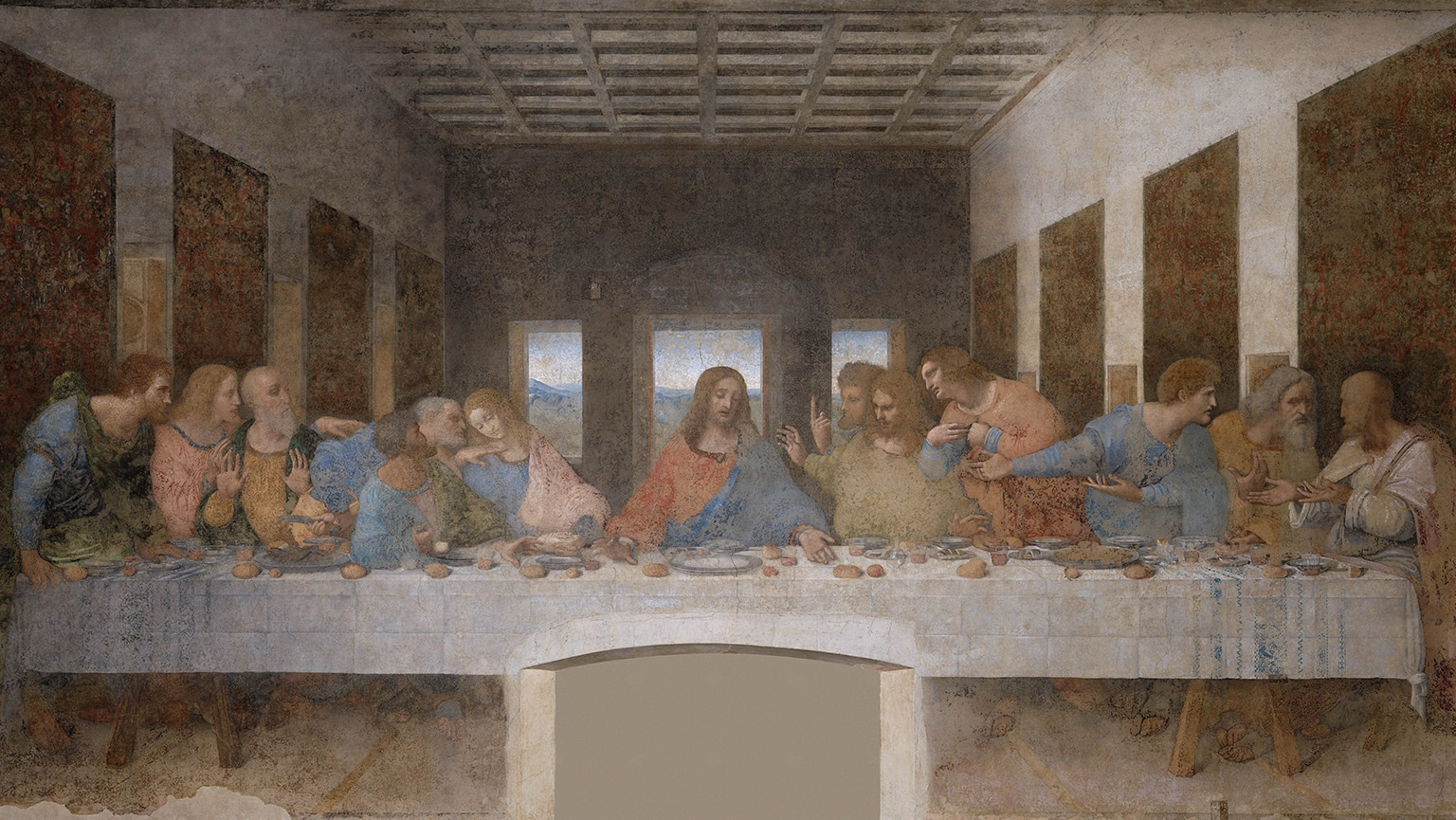Leonardo da Vinci—The Last Supper