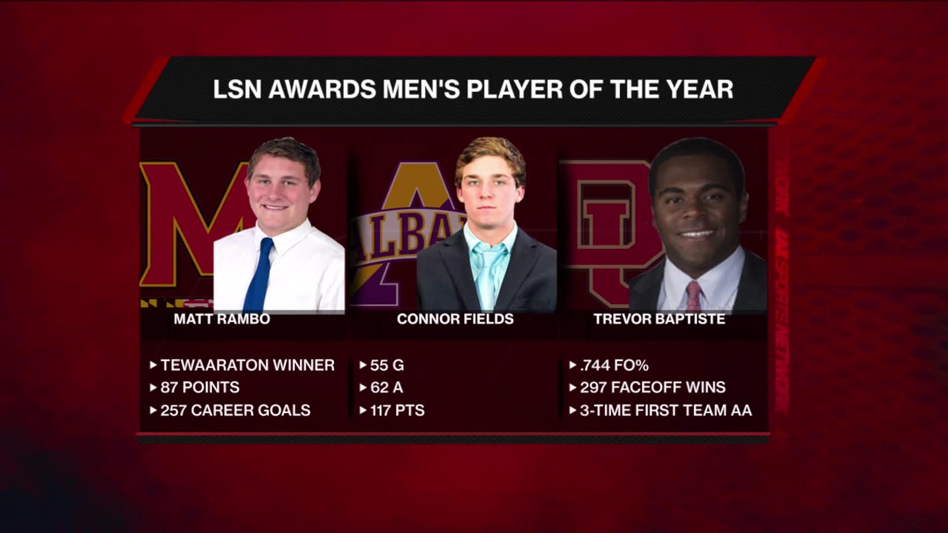 2017 LSN Awards: NCAA Men's Player of the Year