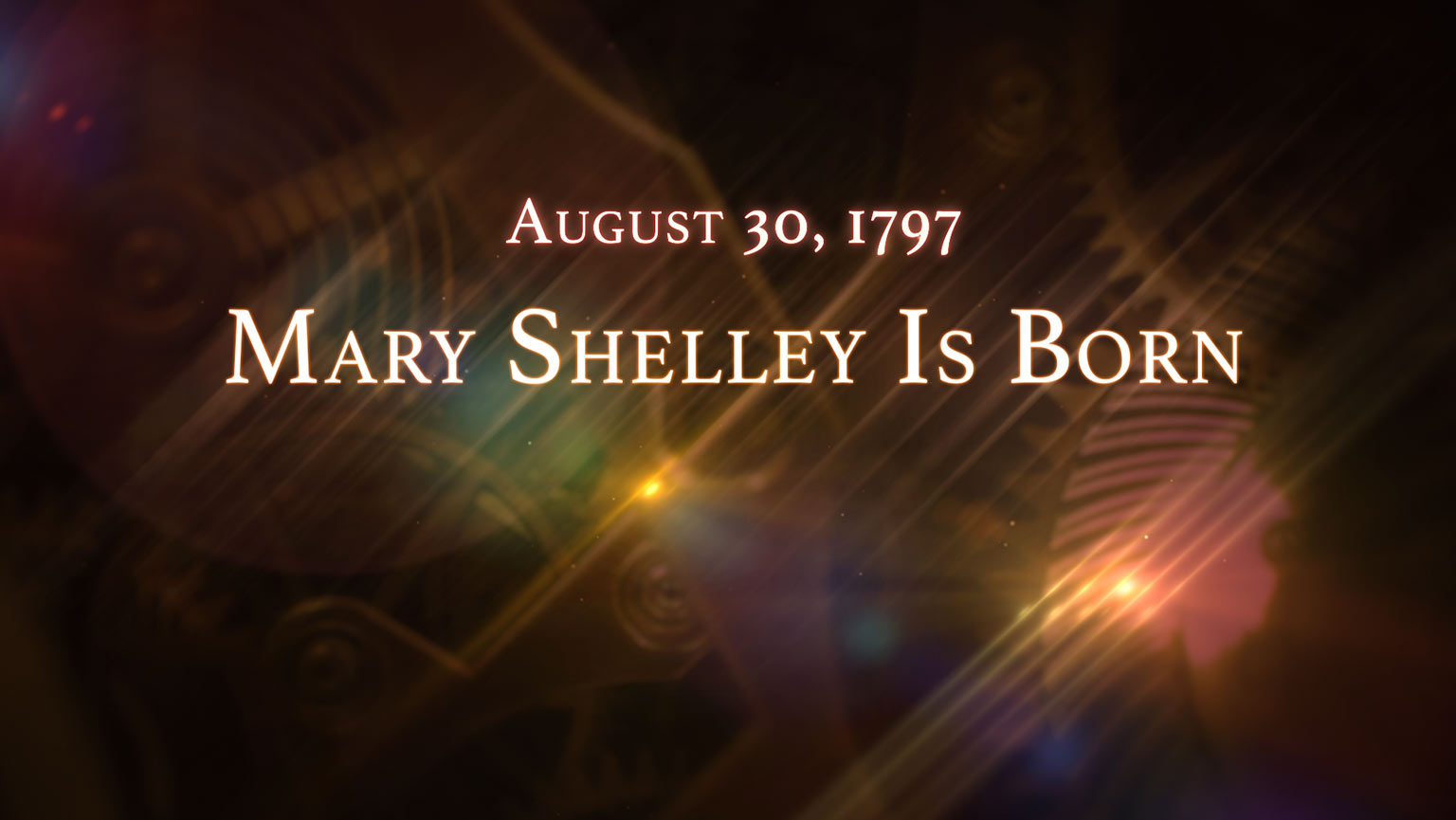 August 30, 1797: Mary Shelley Is Born