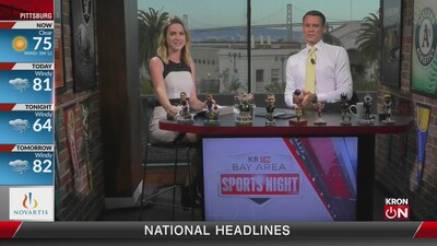 Bay Area Sports Night Aug. 8, 2019