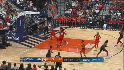 Highlights: Mystics @ Sun WNBA Finals Game 3