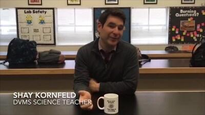 Teacher of the Year Nominee: Shay Kornfeld