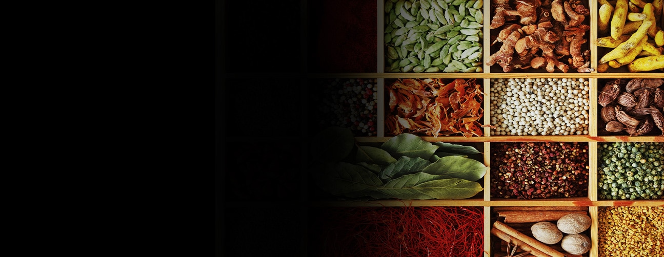 image of fresh and dried spices