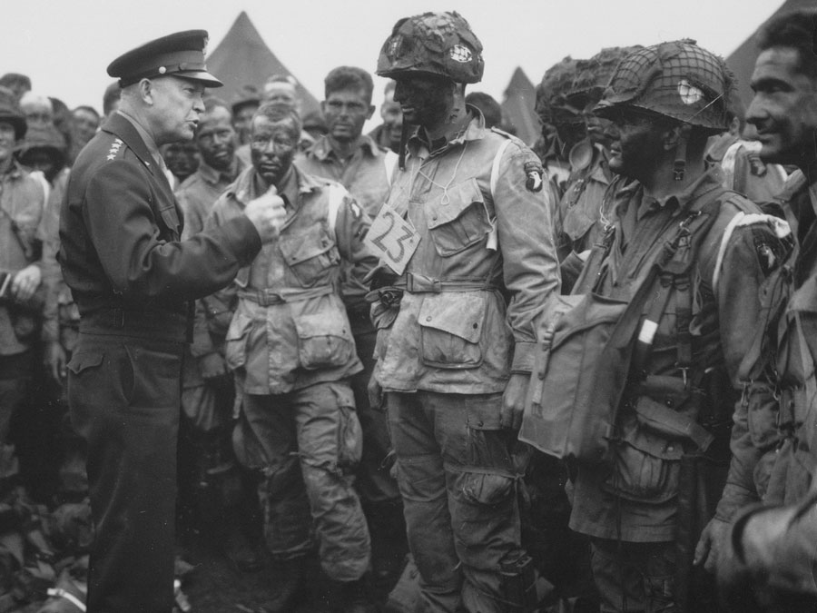 Dwight D. Eisenhower Military History