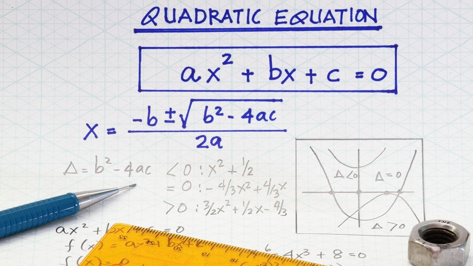 Quadratic Equations—The Quadratic Formula