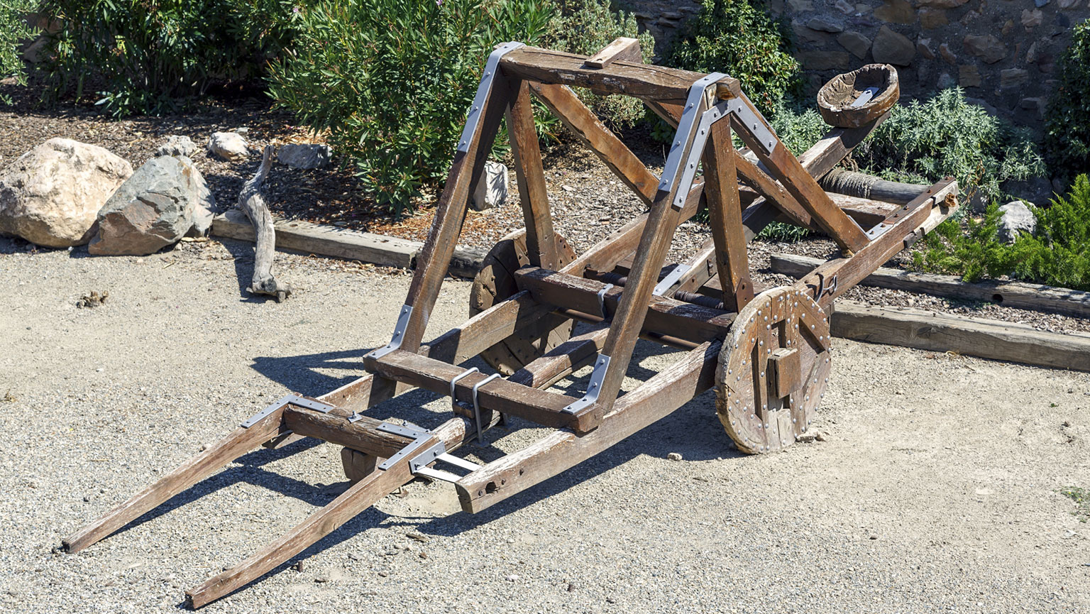 Machines at War—Evolution of the Catapult