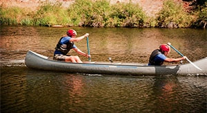 Image of Season 1 Episode 2 Canoe Jousting