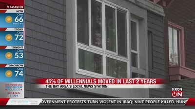 Bay Area Millennials moving more than previous generation