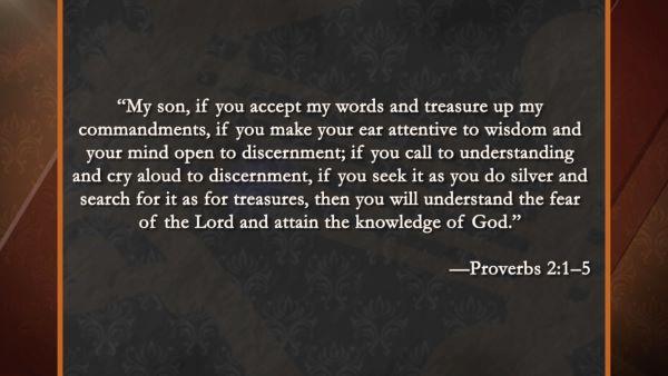 Proverbs in the Bible: Wisdom Literature