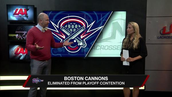 Boston Cannons Eliminated from Playoffs