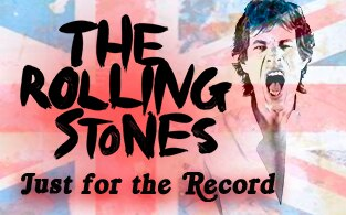 Image of Rolling Stones: Just for the Record