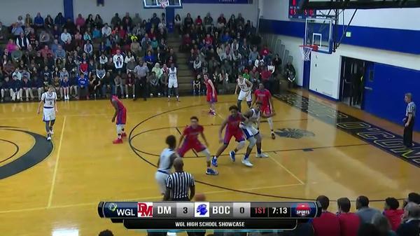 High School Basketball Showcase: O'Connell vs. DeMatha 2/10/17