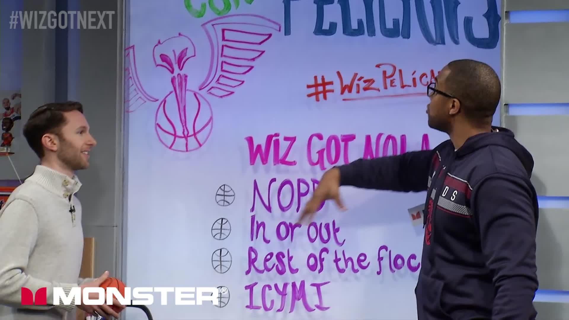 Wiz Got Next: Wizards @ Pelicans Pt 1 - 1-29-17