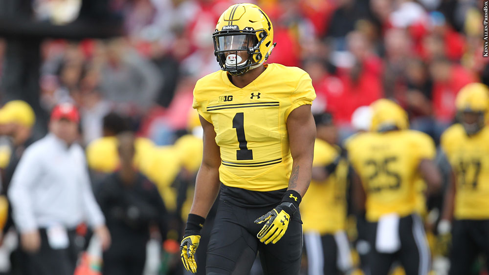 pretty nice 6a785 2c033 Terps' DJ Moore: 'I Do Feel Ready For The Next Level'