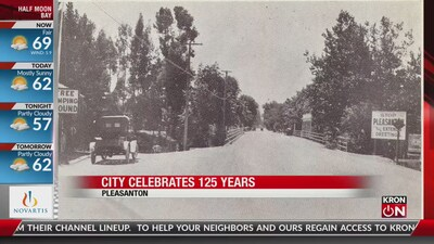 Pleasanton turn 125 years old