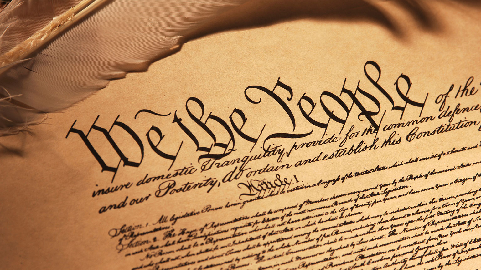 Secular Scripture—U.S. Constitution