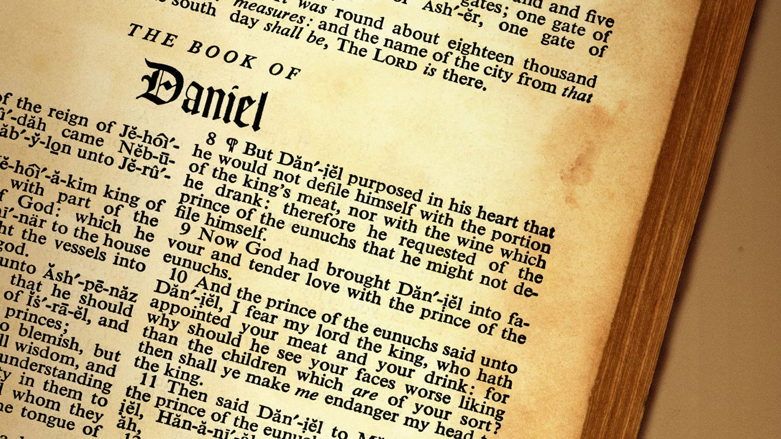 Daniel—Wisdom through Dream Visions