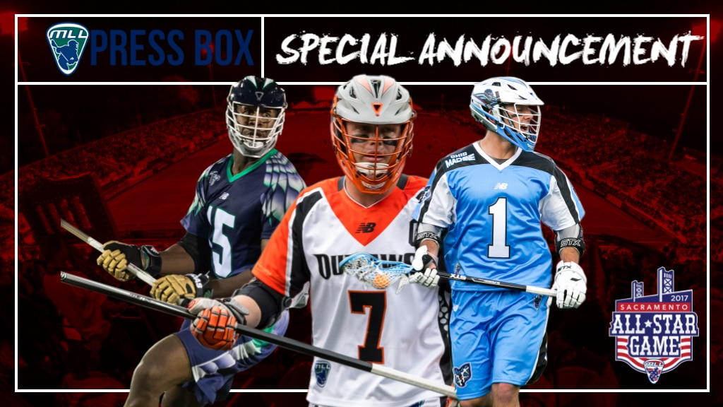 2017 MLL All-Star Game Roster Announced | Major League ...