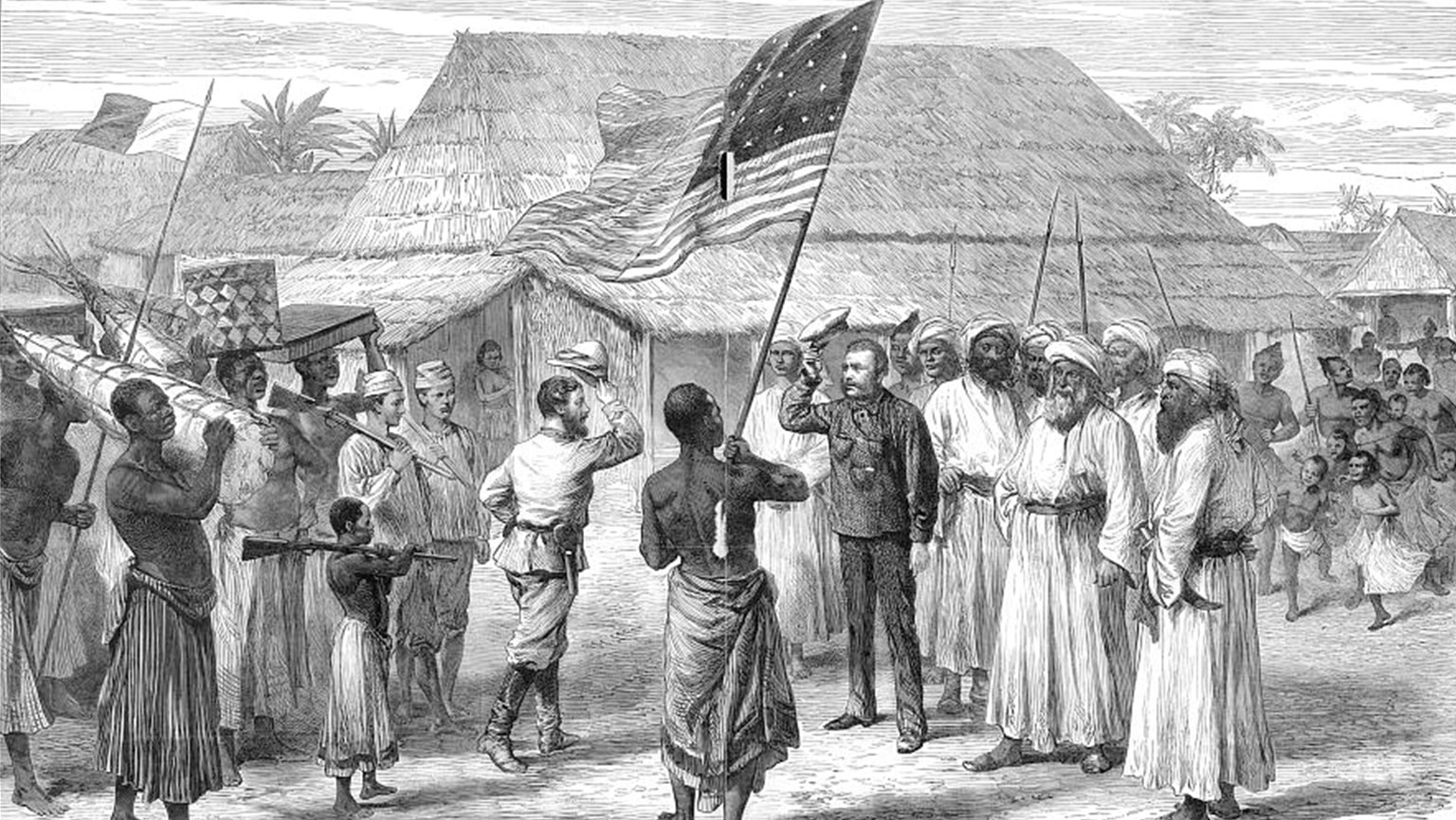 Dr. Livingstone and Mary Kingsley in Africa