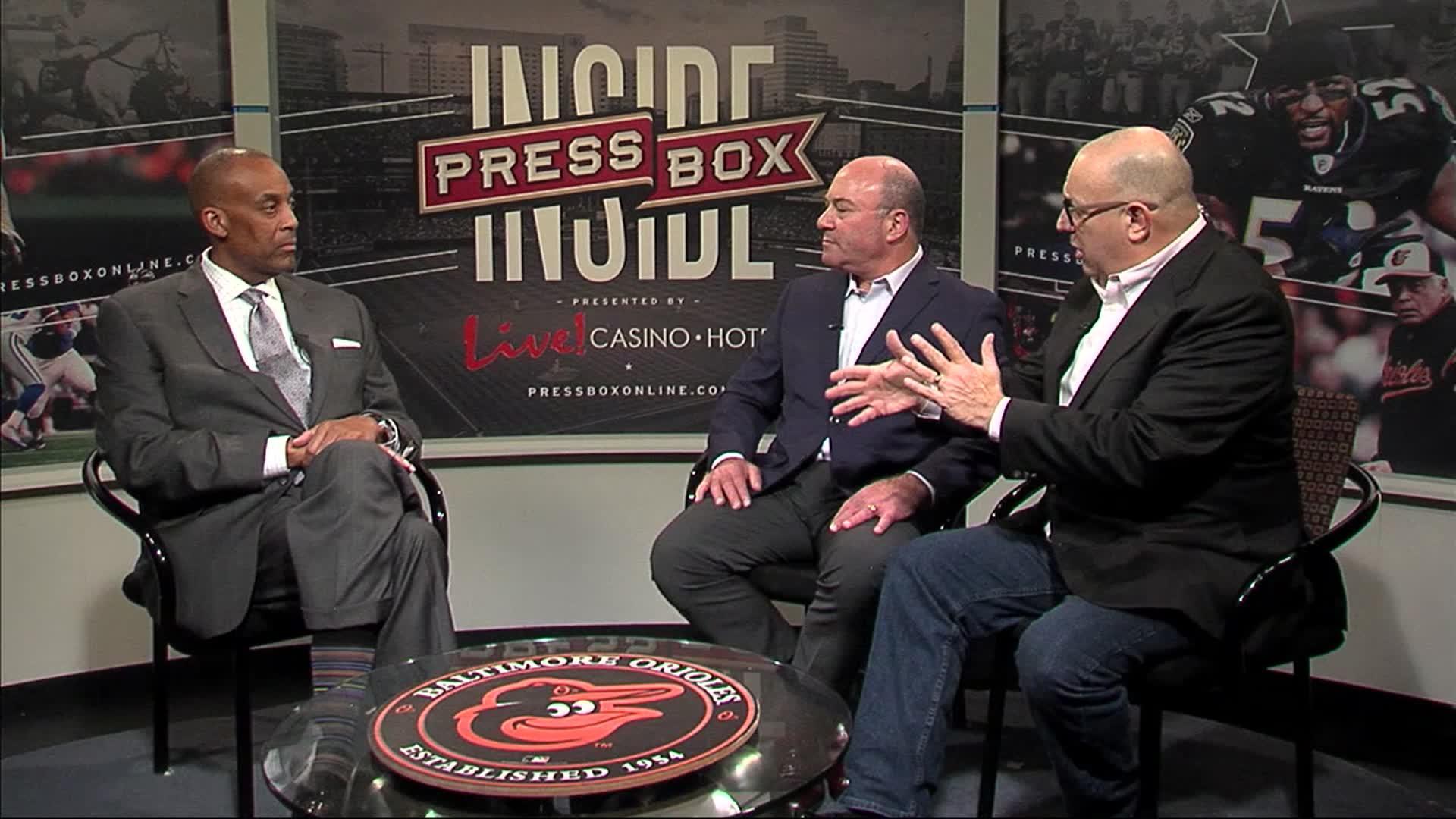 Image of Inside PressBox 11/11/18 Pt. 1: Stevenson Men's Basketball Coach Gary Stewart