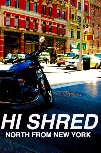 Image of Hi Shred - North From New York