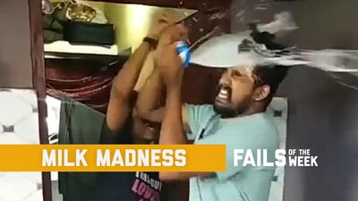 Milk Madness: Fails of the Week (November 2019)