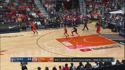 Highlights: Mystics @ Sun WNBA Finals Game 4