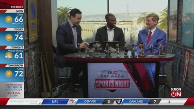 Bay Area Sports Night Sept. 9, 2019