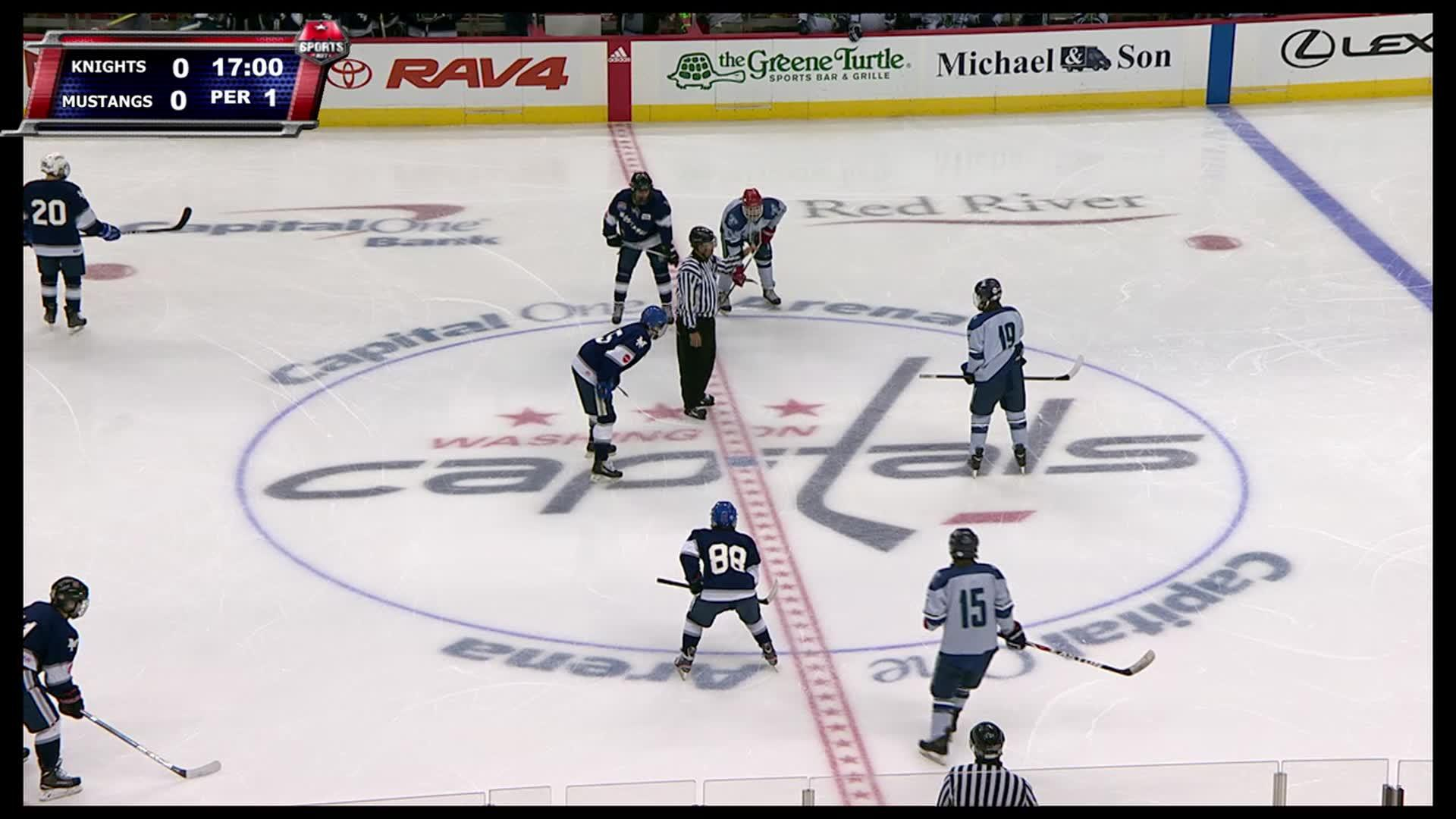 Ice Time: Marriott's Ridge HS vs. St. Mary's-Ryken HS