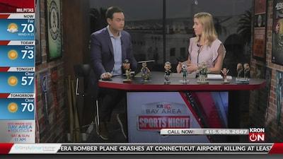 Bay Area Sports Night Sept. 2, 2019