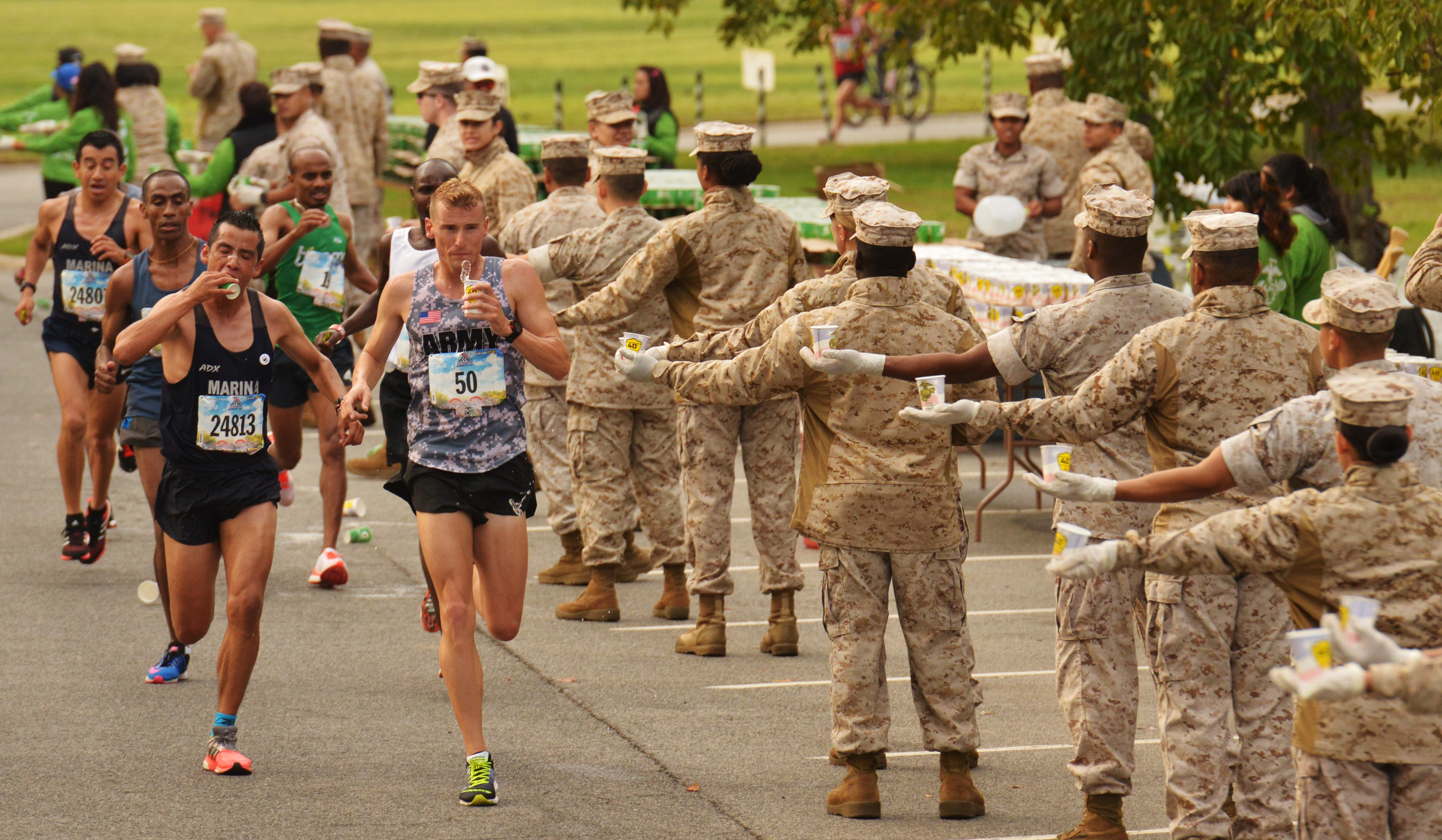 attention military marathon runners you re doing it wrong