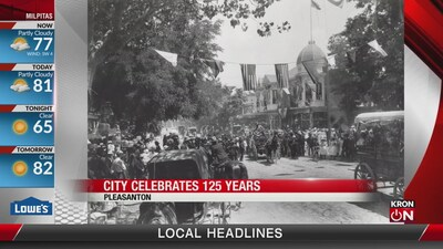 Pleasanton celebrates 125 years
