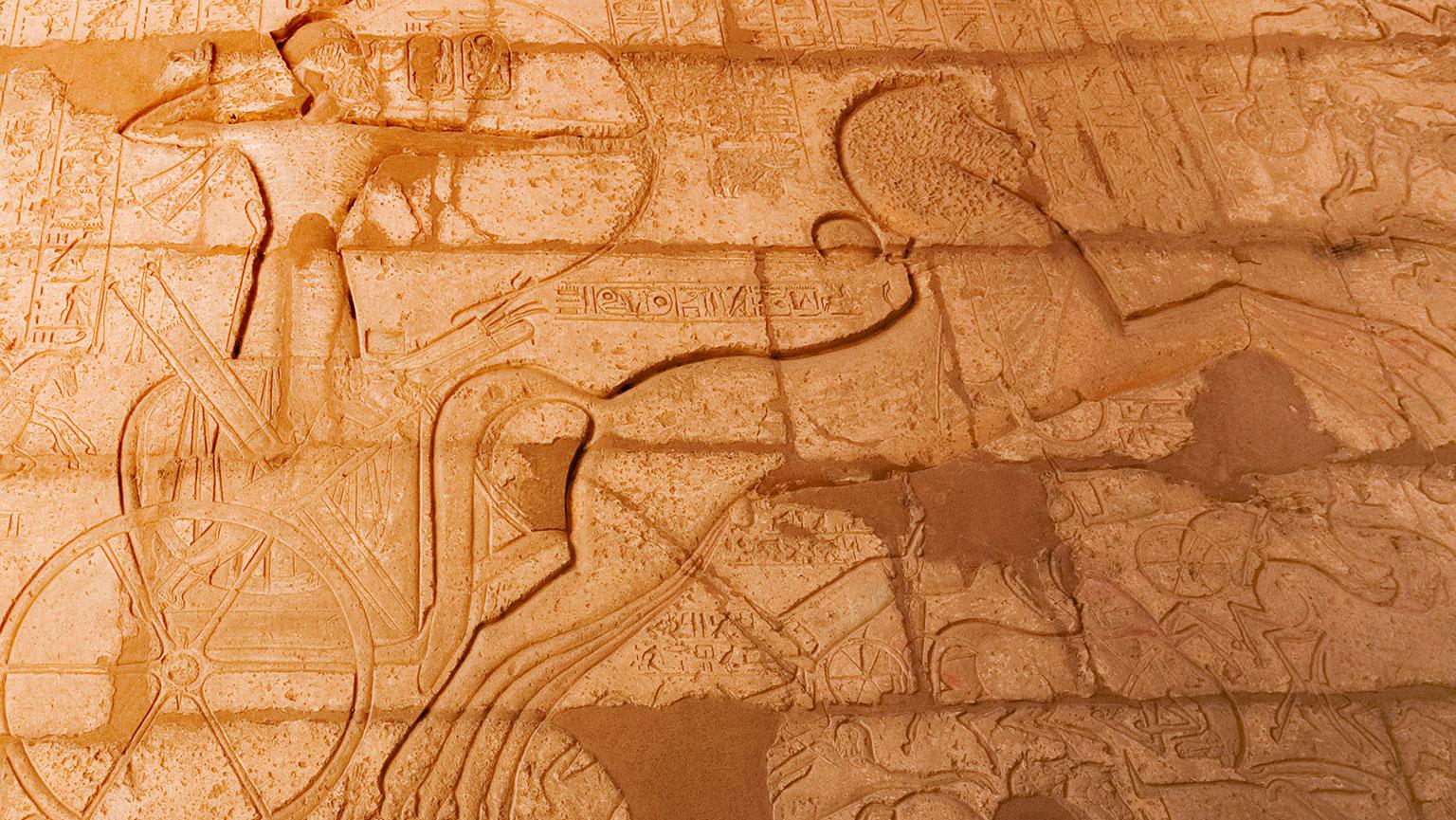 1274 B.C.  Kadesh—Greatest Chariot Battle