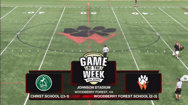 Christ School vs Woodbury Forest School