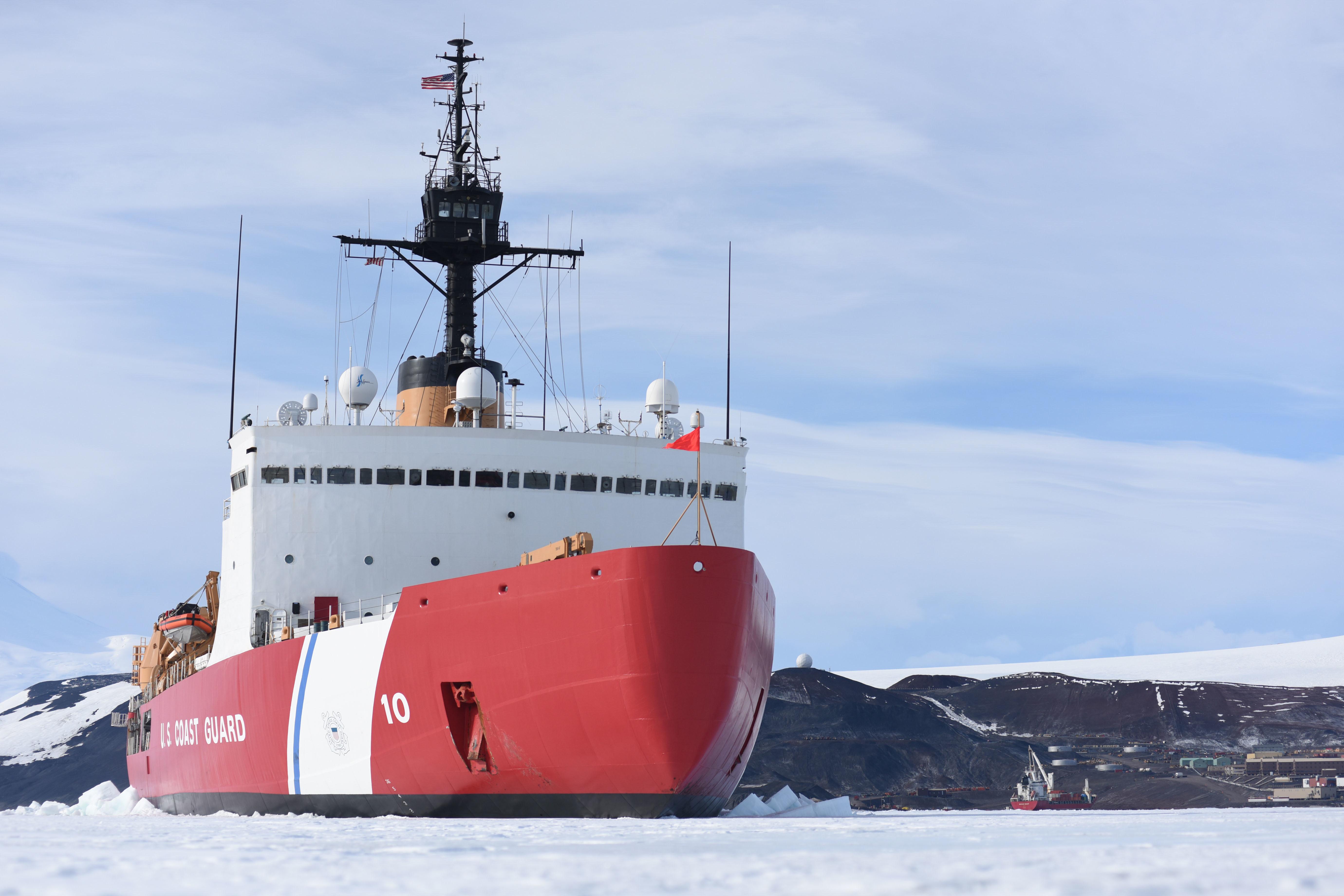 New Coast Guard Icebreaker Decade Away Lawmaker Says S Too