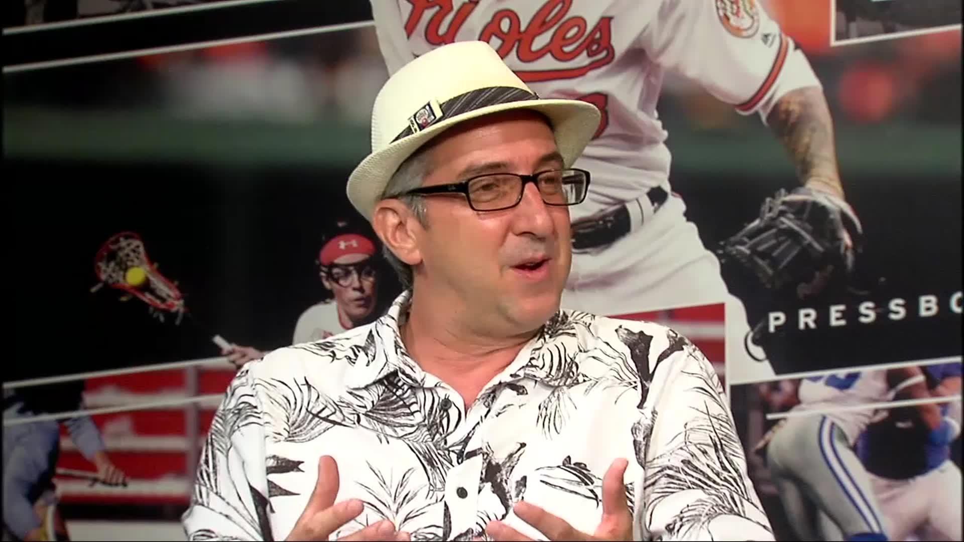 Image of Inside PressBox 06/18/17: James Mosher Baseball