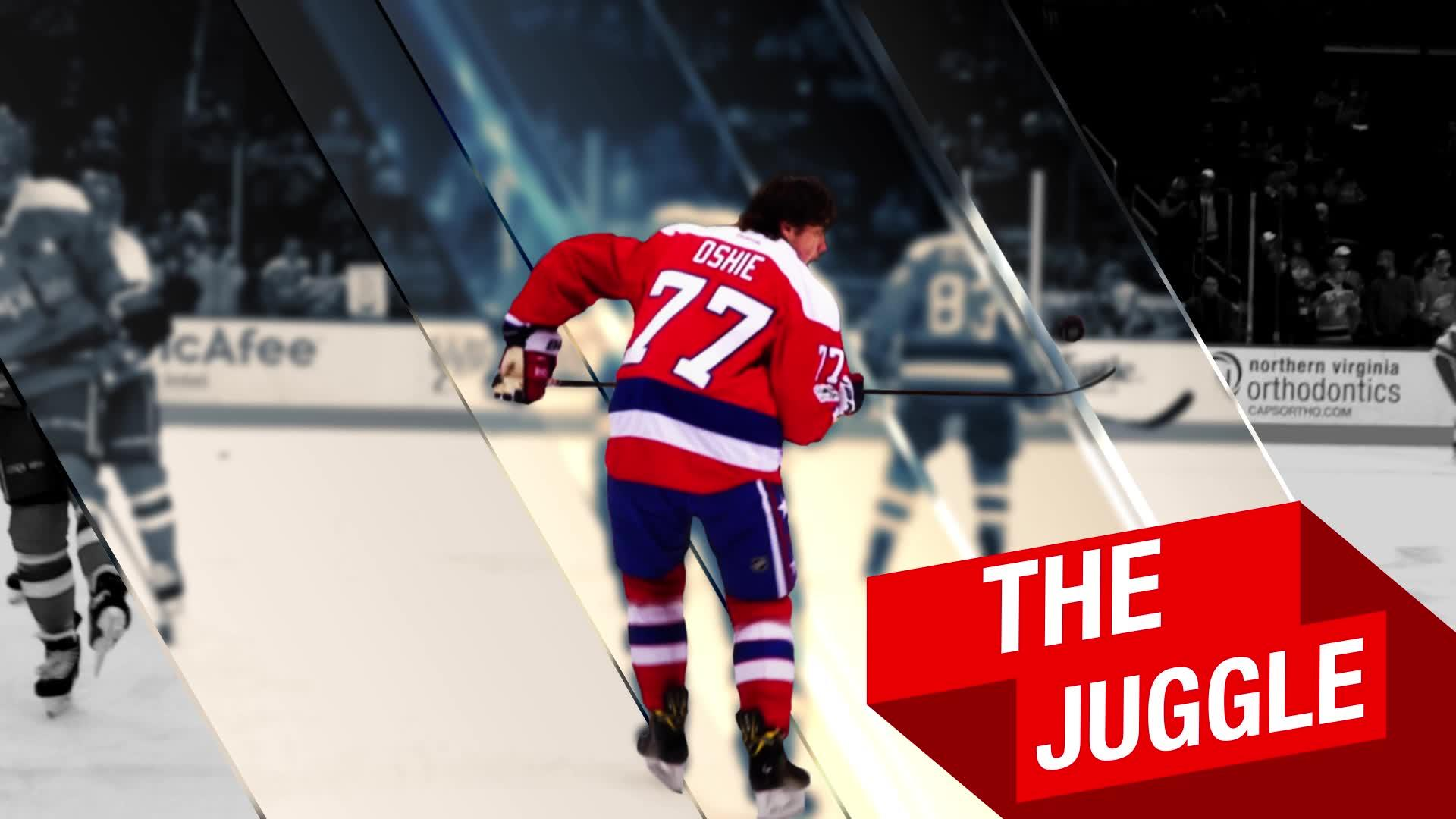 Monumental Shorts: The T.J. Oshie Warm-Up Routine