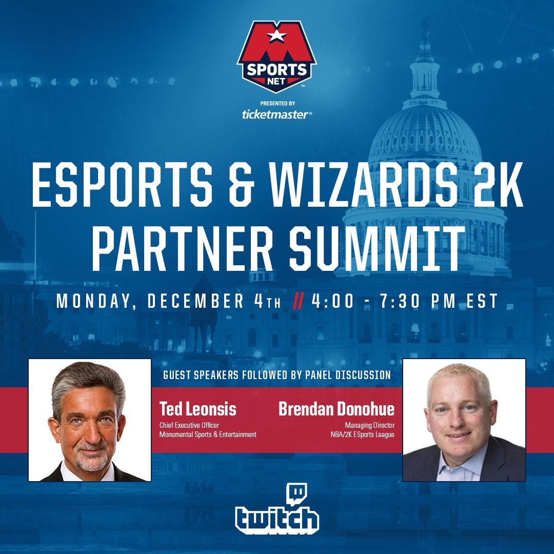 Esports & Wizards 2K Partner Summit Live