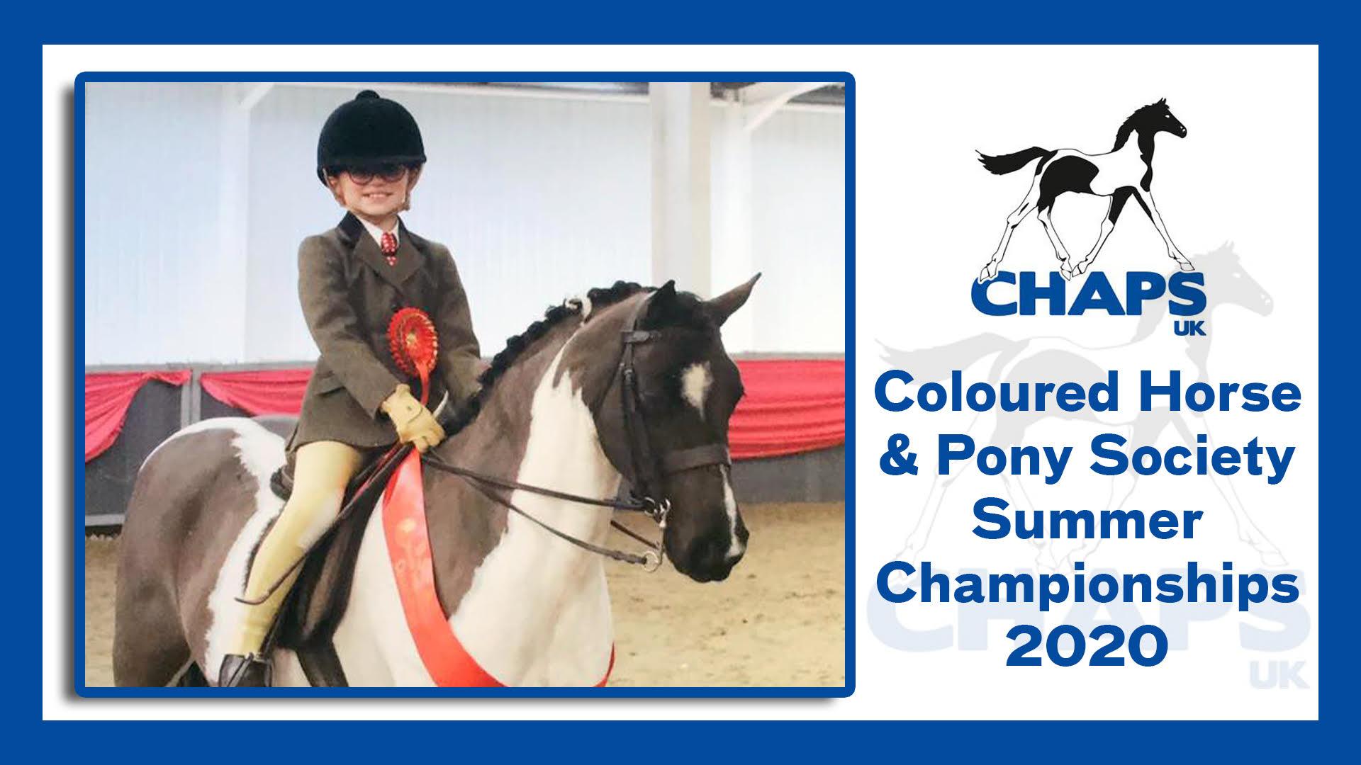 Coloured Horse & Pony Summer Championships 2020