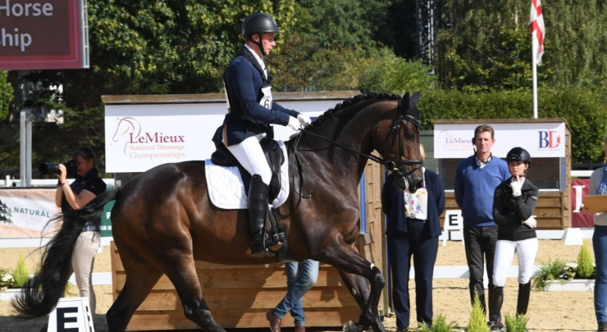 British Dressage Young Horse Championships 2020