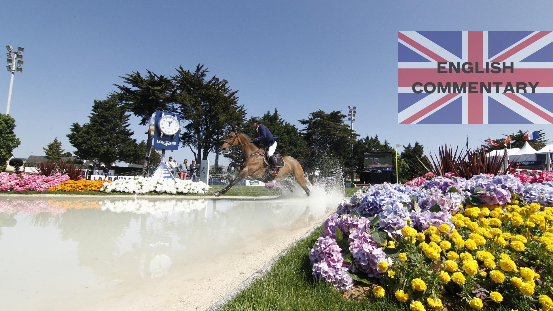 International Jumping La Baule 2021, English