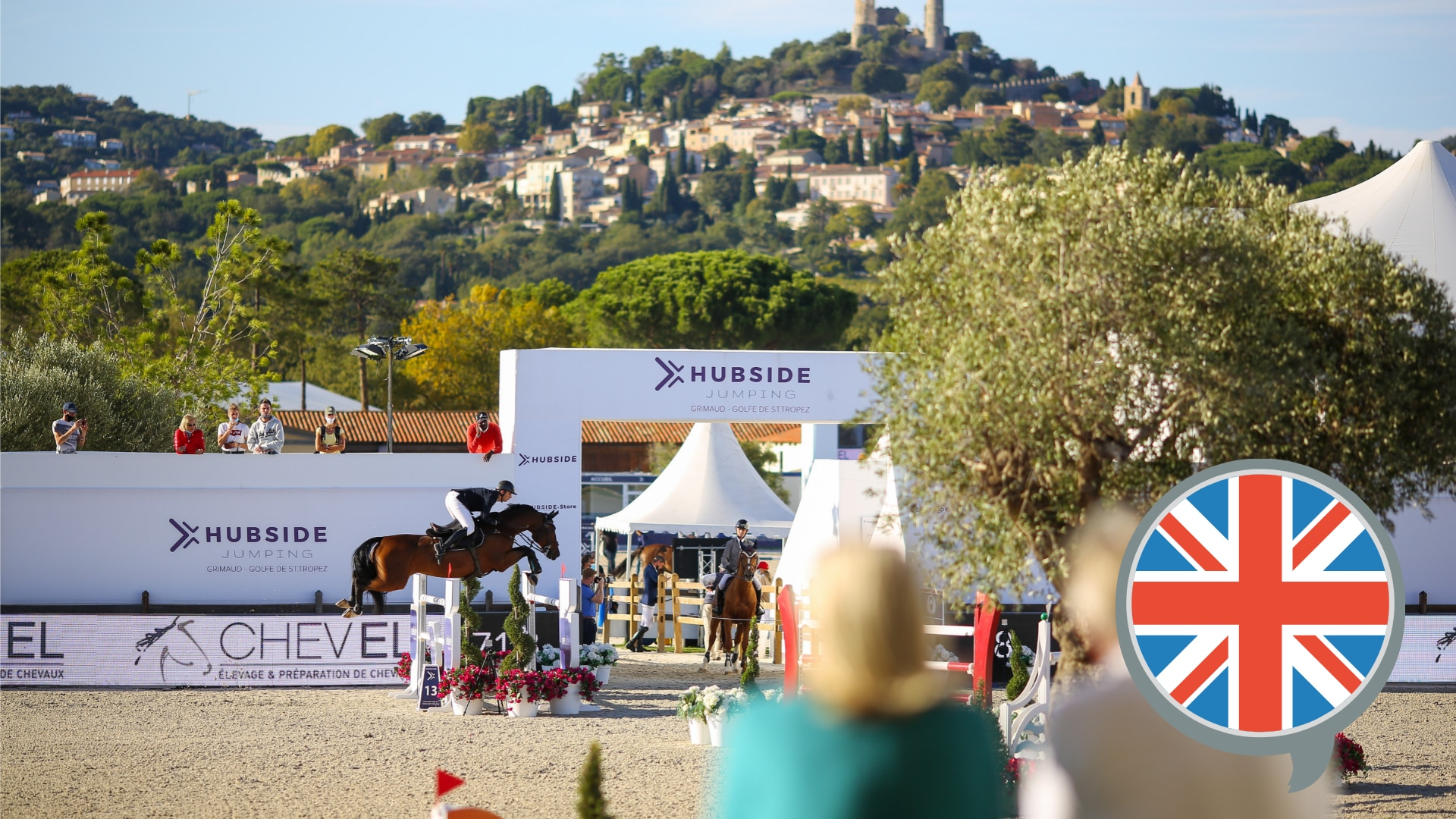 Hubside Jumping, St Tropez 2021 - English Commentary