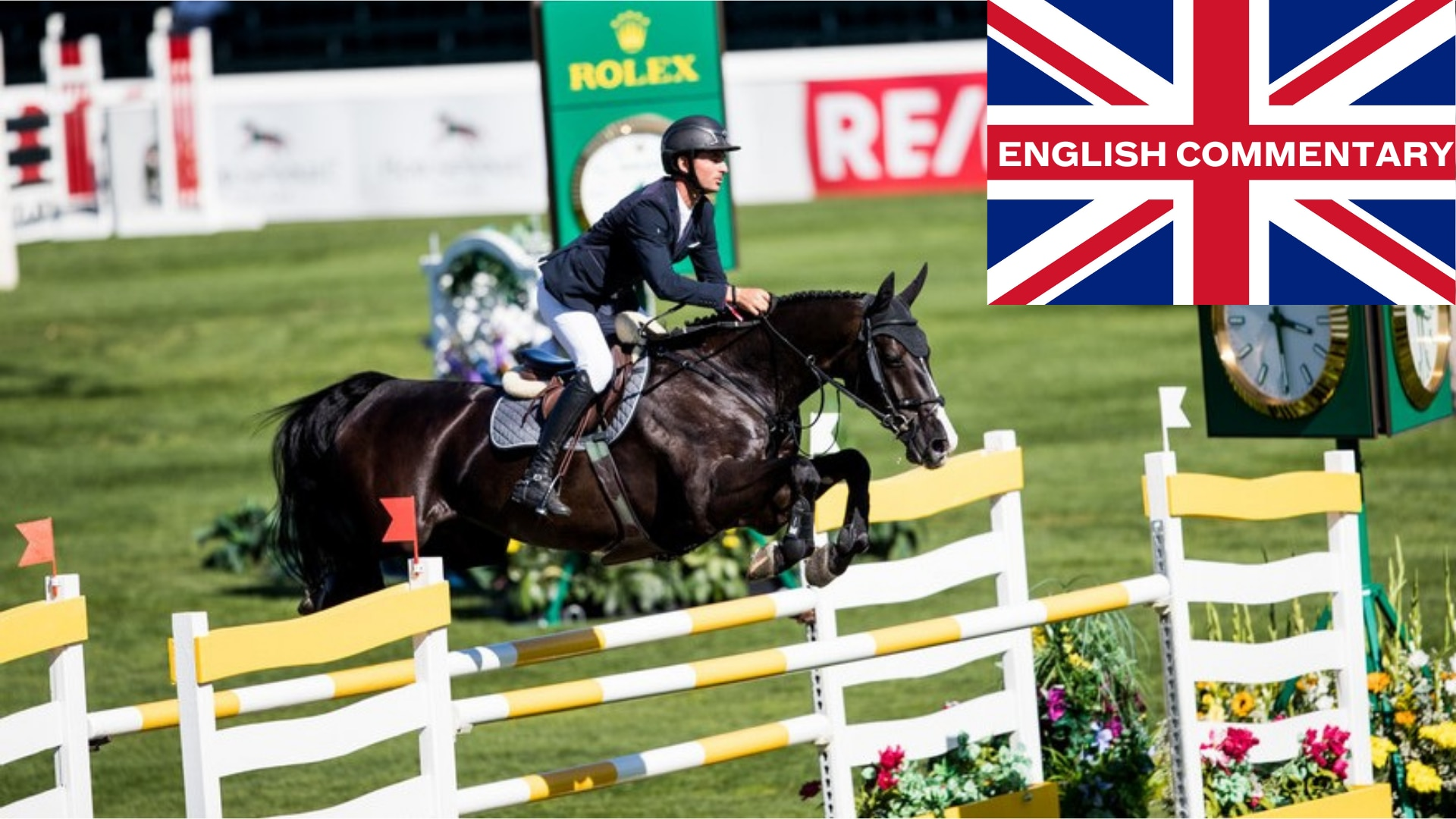 CP 'International' presented by ROLEX, English Commentary