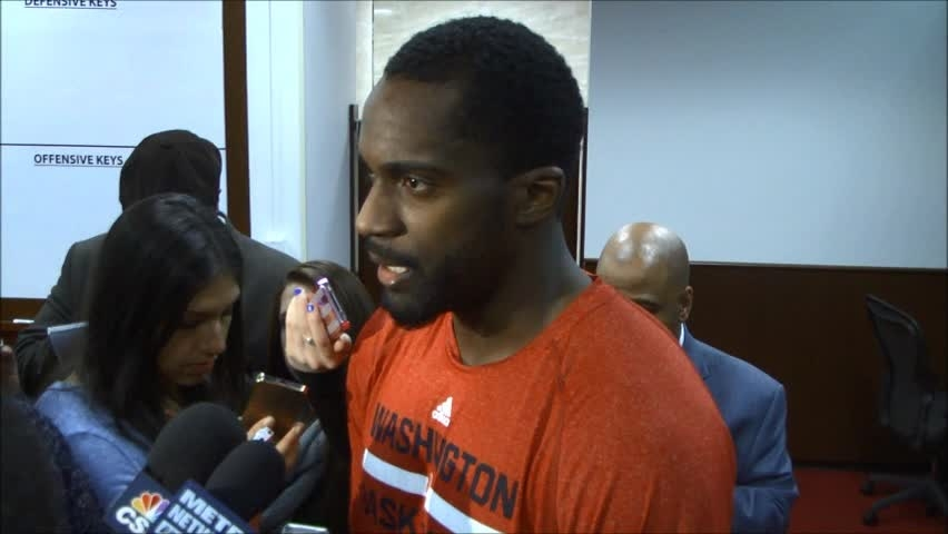 Martell Webster Postgame - 1/18/14
