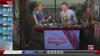 Bay Area Sports Night Aug. 26, 2019