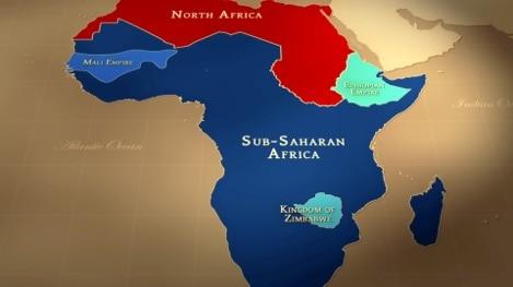 Civilizations of Sub-Saharan Africa in 1215