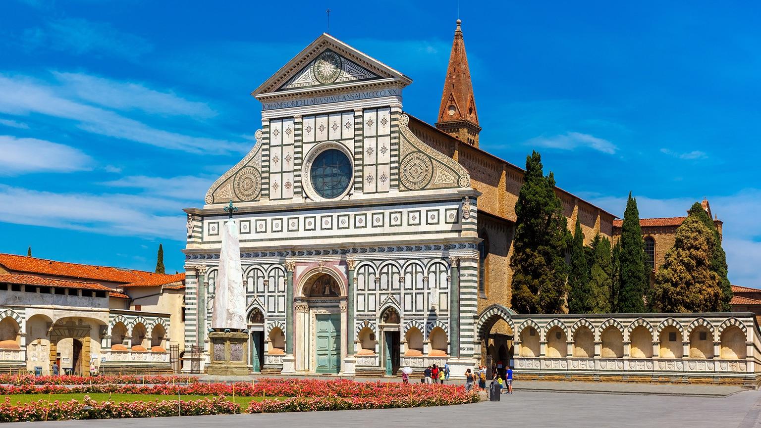 From Santa Maria Novella to San Lorenzo